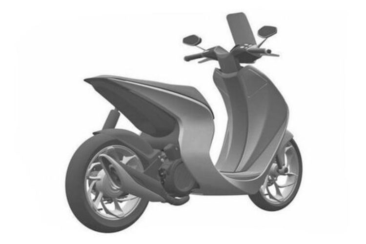 Honda's new motorcycle patent