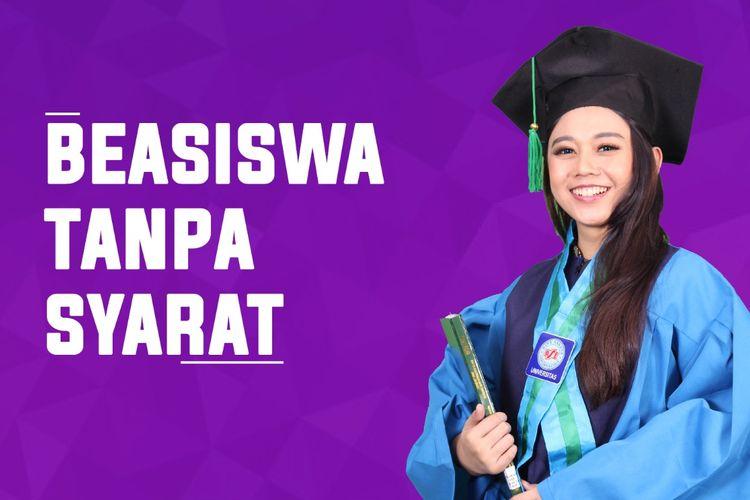 Lewat Beasiswa Tanpa Syarat (BTS) mahasiswa kini bisa berkuliah tanpa perlu pusing memikirkan biaya.