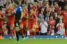 Benteke Buka Keran Gol di Liverpool