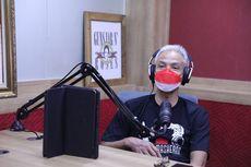 Mendadak Jadi Penyiar Radio, Gubernur Ganjar Dapat Curhatan dari Pendengar