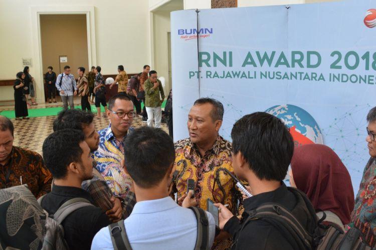 Utama PT Rajawali Nusantara Indonesia (PT RNI) B. Didik Prasetyo di BSD Serpong