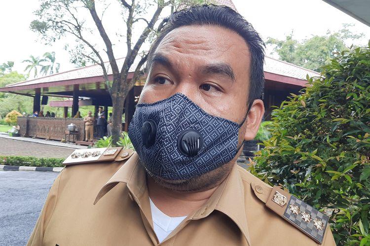 Bupati Blora, Arief Rohman di Pendopo Bupati Blora, Senin (8/3/2021)