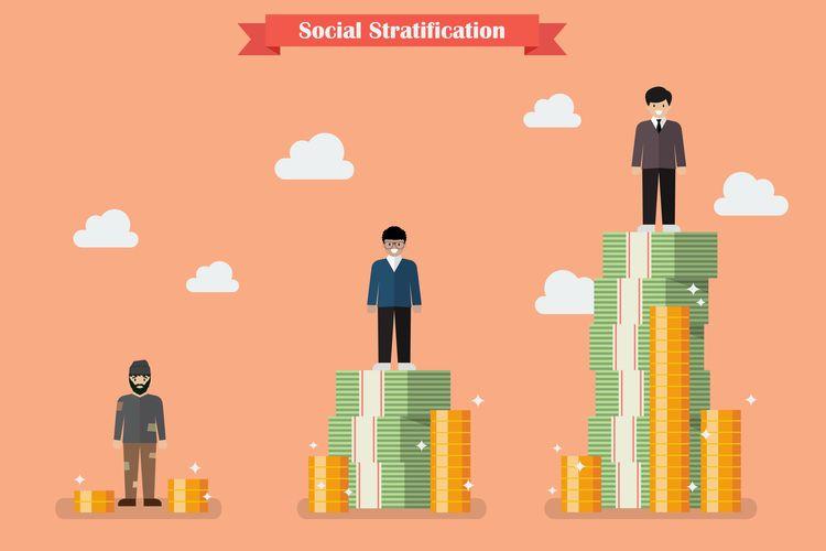 Ilustrasi Stratifikasi Sosial