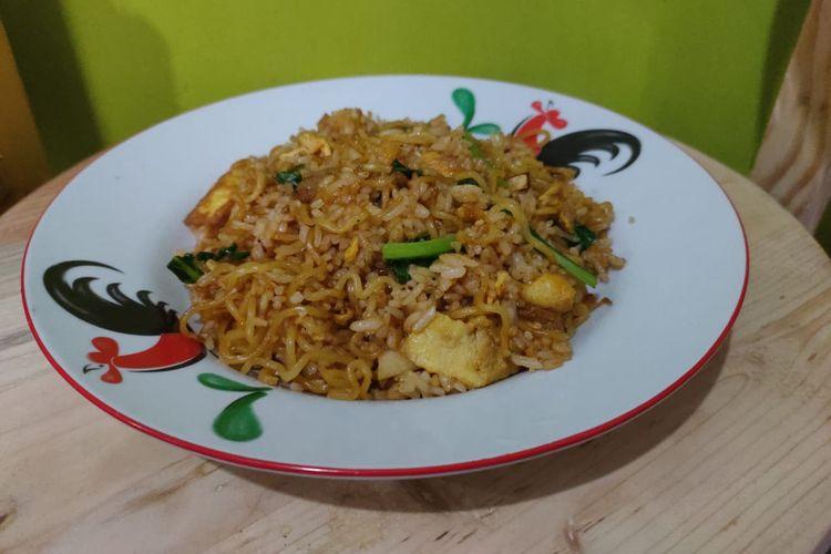 Magelangan, salah satu menu makanan di Warung Burjo yang bisa dibuat sendiri di rumah.