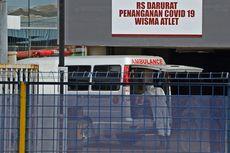 UPDATE RSD Wisma Atlet 31 Maret: 413 Pasien Dirawat, 1 PDP Meningal