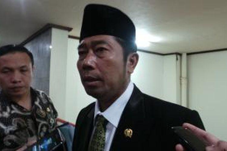 Wakil Ketua DPRD DKI Abraham Lunggana.