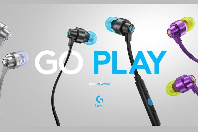 Logitech meluncurkan earphone gaming pertamanya.