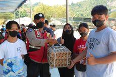 Polda Papua Hadiahkan Sembako, Pulsa Data hingga Uang Tunai, Supaya Warga Mau Divaksin
