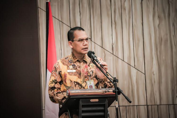 Direktur Jenderal (Dirjen) Prasarana dan Sarana Pertanian (PSP) Kementerian Pertanian (Kementan) Ali Jamil dalam agenda Rapat Konsolidasi Ditjen PSP Kementan di Kota Semarang.