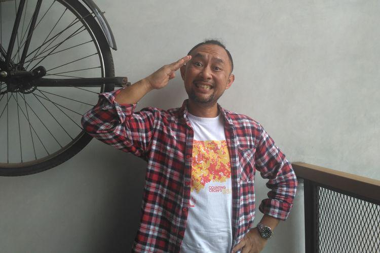 Ronal Surapradja dijumpai dalam sebuah acara di kawasan Tebet, Jakarta Selatan, Rabu (17/10/2018).