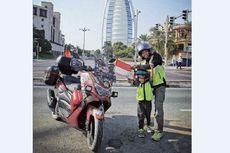 Motor yang Tempuh Perjalanan Jambi-Arab Saudi Dilelang untuk Bangun Masjid di Jambi