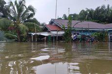 Saat Ketinggian Banjir di Kampar Riau Terus Bertambah, Petugas Keamanan Tak Ada di Lokasi