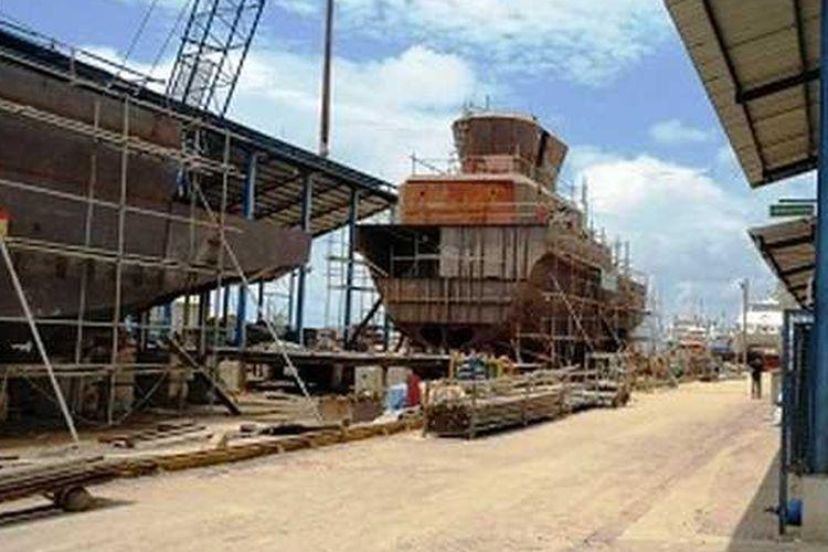 Utility boat pesanan Kangean Energi Indonesia, Ltd (KEI)