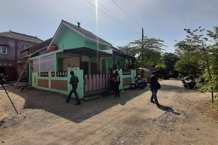 Suasana Rumah Nani Apriliani Nurjaman di Padukuhan Cepolojajar RT 3, Kalurahan Sitimulyo, Piyungan, Bantul Selasa (4/5/2021)