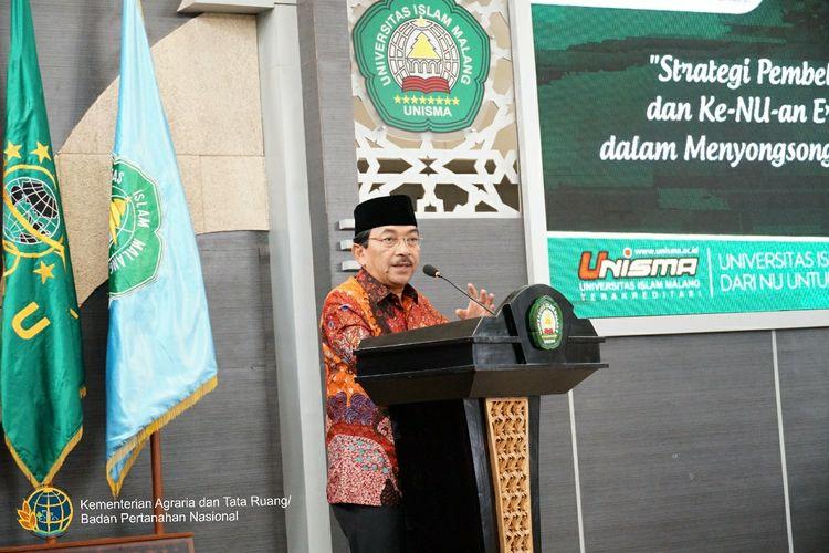 Direktur Jenderal Hubungan Hukum Keagrariaan, Kementerian ATR/BPN, Djamaludin