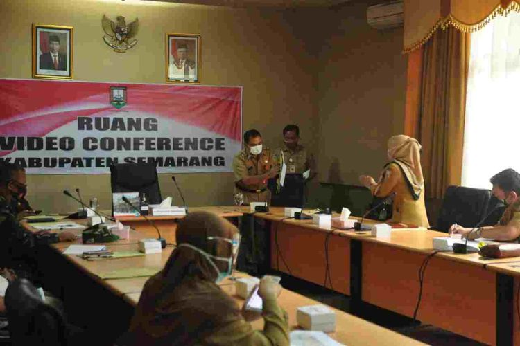 Rakor persiapan Pilkada Kabupaten Semarang.