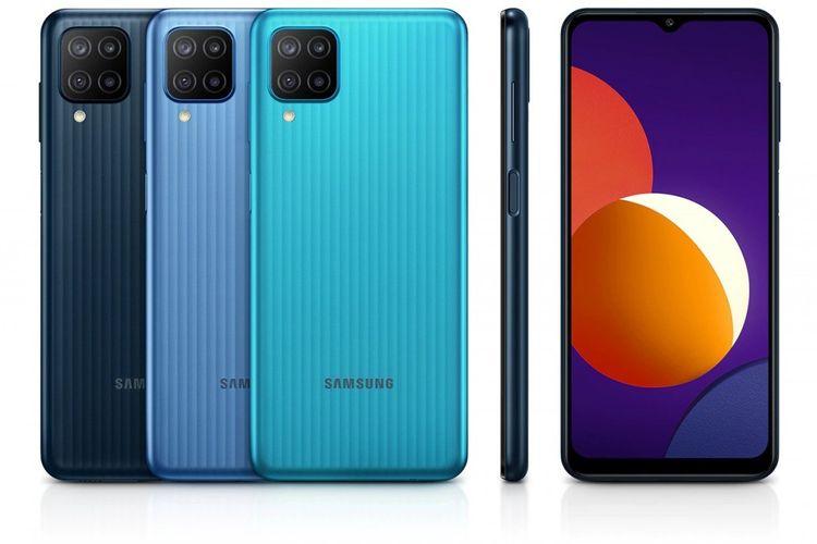 Samsung Galaxy M12 meluncur di Vietnam dengan baterai 6.000 mAh.