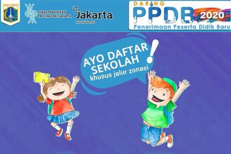 PPDB SD-SMP-SMA Jakarta Jalur Zonasi