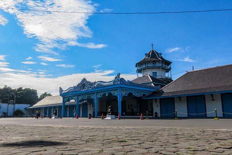 Keraton Kasunanan Surakarta Hadiningrat di Kota Solo.