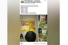 Viral Unggahan Warga Jual Paket Bantuan Sembako di Facebook, Ini Penjelasan Penjualnya