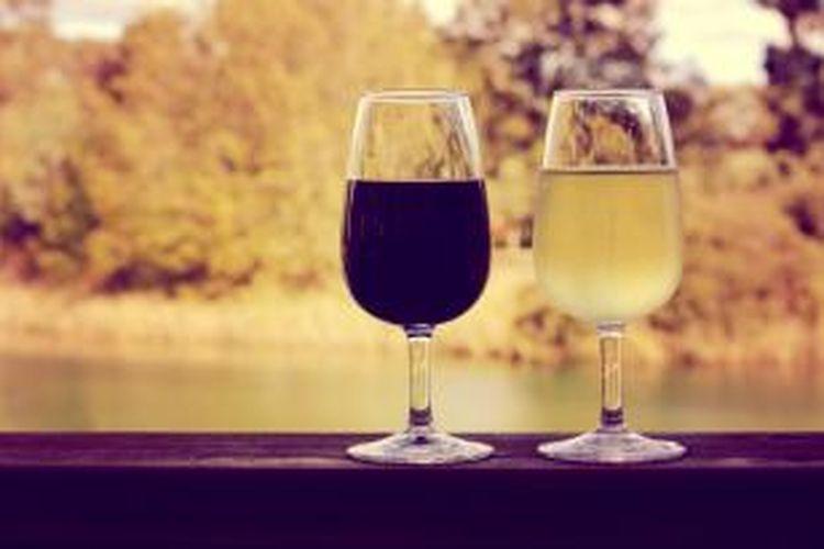 ILUSTRASI - Wine dari Australia