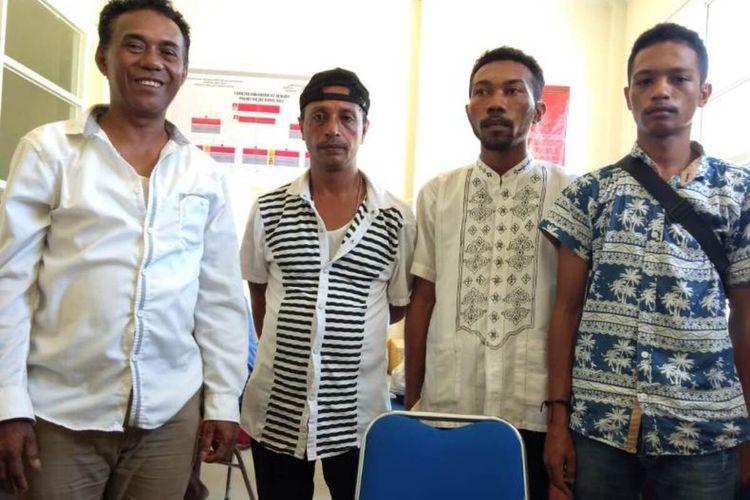 Empat pelaku pemerasan sejumlah kepala desa di Kabupaten Maluku Barat Daya ditangkap polisi, Jumat (24/1/2020)