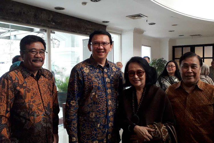 Ahok saat hadiri Roosseno Award di Jakarta pada Senin (22/07/2019).