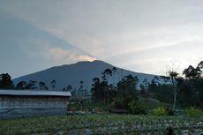 Status Gunung Slamet Masih Waspada, Berikut Hasil Pantauan Pagi Ini