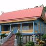 Rumah Melayu Atap Lipat Kajang di Riau