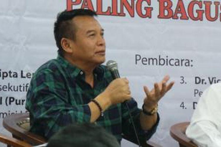 Wakil Ketua Komisi I DPR RI dan Politisi PDI Perjuangan TB Hasanuddin
