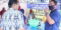 Wali Kota Semarang Puji Warga yang Kelola Lumbung Kelurahan Jadi Dapur Umum
