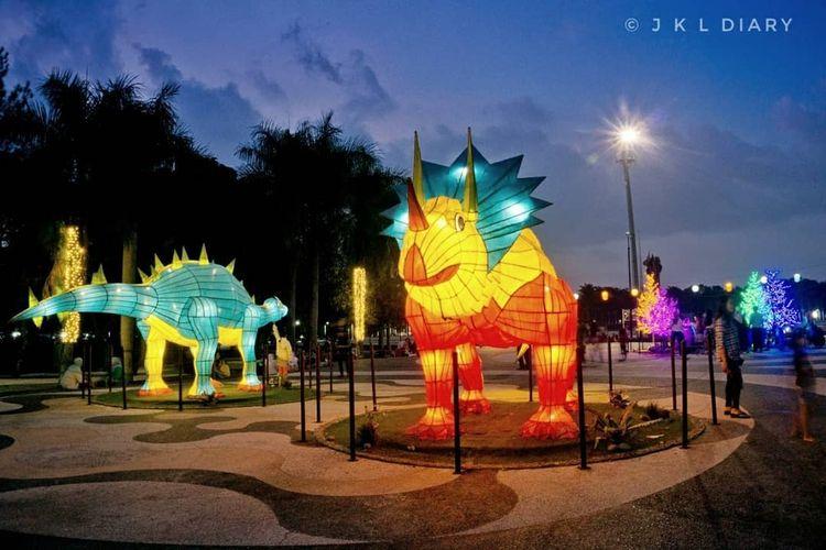 Taman Tegallega Lampion Park Bandung