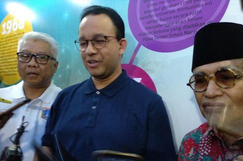 Kata Anies soal Tunjuk Denny Indrayana sebagai Kuasa Hukum Hadapi Sengketa Lahan Stadion BMW