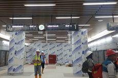 Mengintip Stasiun Bawah Tanah MRT Dukuh Atas