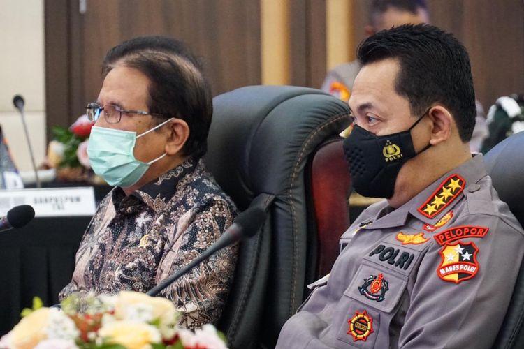 Kementerian ATR/BPN Serahkan Sertifikat Tanah Hak Pakai Seluas 71.291 Meter Persegi Untuk Pembangunan Pusat Pendidikan Pelatihan Propam Polri