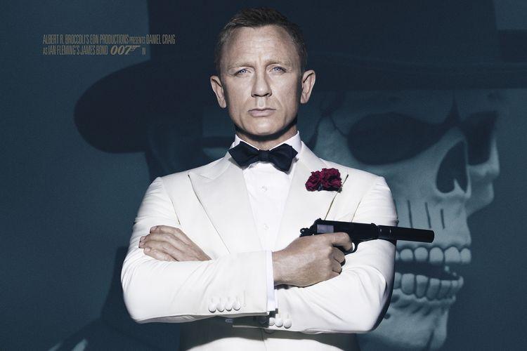Daniel Craig, pemeran James Bond dalam film Spectre