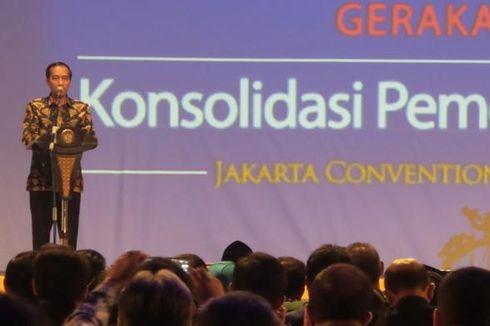 Jokowi: Hati-hati, Jangan Sebut Krisis Ekonomi