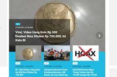 [POPULER TREN] Video Viral Uang Koin Rp 500 Disebut Bisa Ditukar Rp 750.000 | Daftar Kabupaten/Kota Level 4-2 di Jawa Bali
