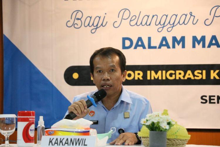 Kepala Kanwil Kemenkumham Bali, Jamaruli Manihuruk