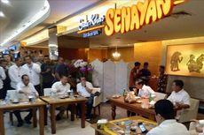 Menu Santap Siang Jokowi dan Prabowo, dari Ongol-ongol, Nasi Pecel, hingga Sate