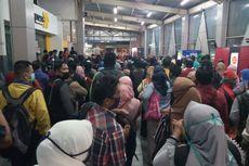 Jumlah Penumpang KRL Pagi Ini Terendah Selama Hari Kerja pada Masa PSBB Jakarta
