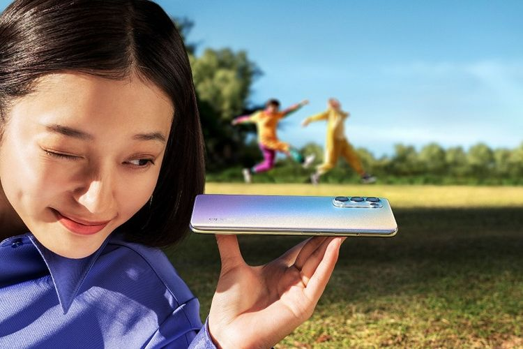 Oppo Reno5 dengan fitur videografi trendi yang dirancang untuk mendukung anak muda berekspresi