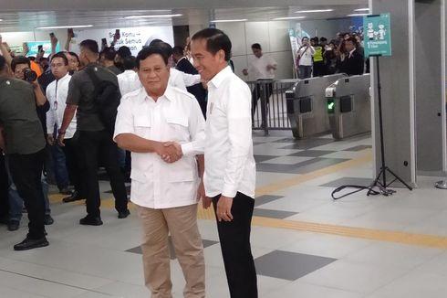 Warga Tetap Pakai MRT yang Sama walau Jokowi-Prabowo Datang ke Stasiun MRT Lebak Bulus