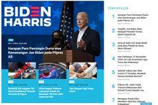 [POPULER TREN] Harapan Para Pemimpin Dunia atas Kemenangan Joe Biden   Link Download Logo, Tema, dan Makna Hari Pahlawan 10 November