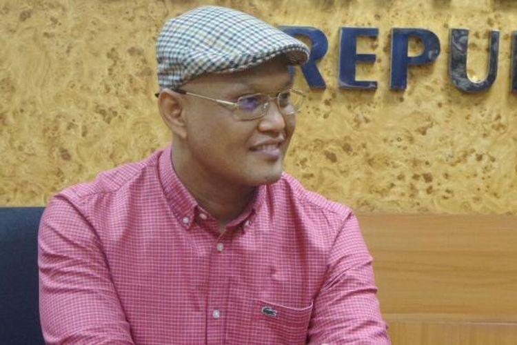 Sekretaris Fraksi PKS Sukamta di Kompleks Parlemen, Senayan, Jakarta, Jumat (6/1/2017)