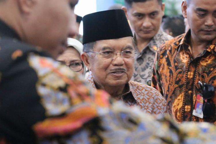 Wapres Jusuf Kalla menghadiri penutupan Tanwir Muha..adiyah di Bengkulu, Minggu (17/2/2019)