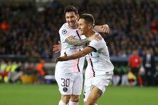 Hasil Club Brugge Vs PSG - Messi Melempem, PSG Merana