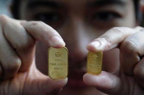 Harga Emas Antam Hari Ini Naik Jadi  Rp 765.000 Per Gram
