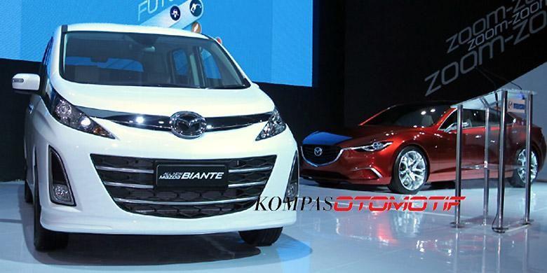 Mazda Biante tetap difavoritkan selain Mazda2