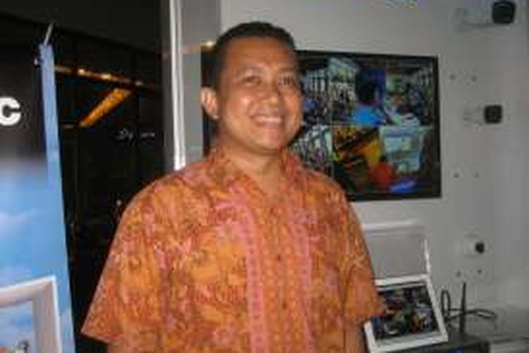 Manager System Solution Department PT. Panasonic Gobel Indonesia Hot Asi Eben Ezer Nababan